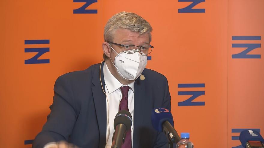 Video Brífink ministra dopravy Karla Havlíčka k plánu železniční infrastruktury