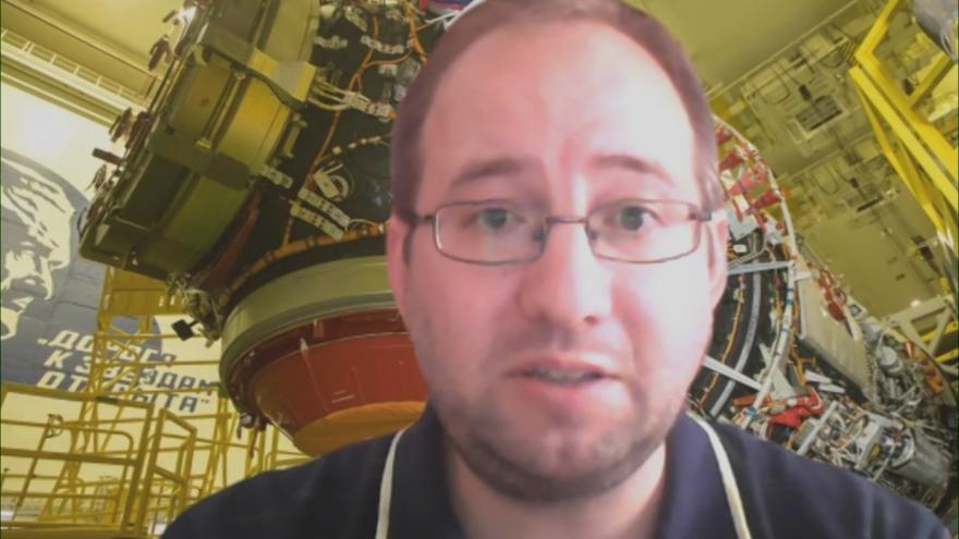 Video Studio ČT24: Michal Václavík z České kosmické kanceláře o připojení modulu Nauka k ISS