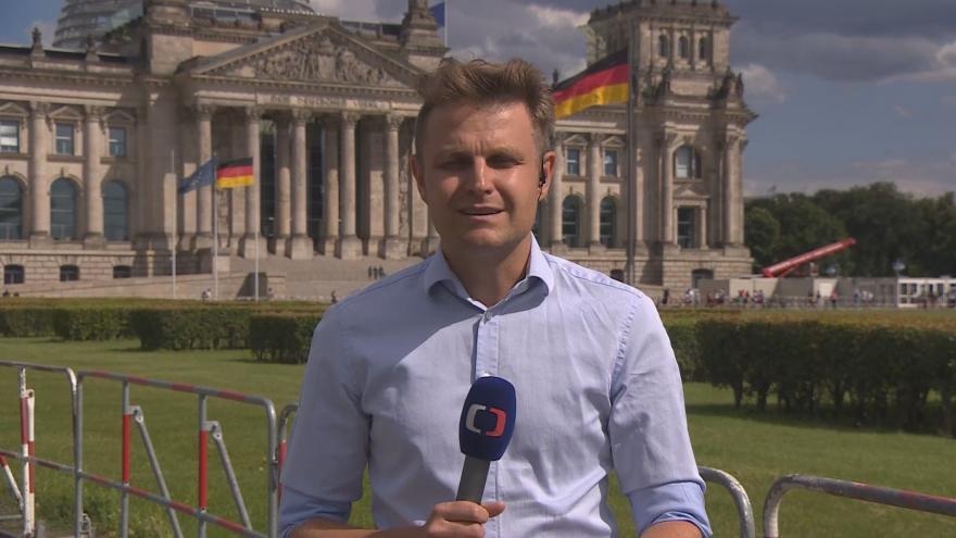 Video Studio ČT24: Zpravodaj Martin Jonáš k šíření pandemie v Německu