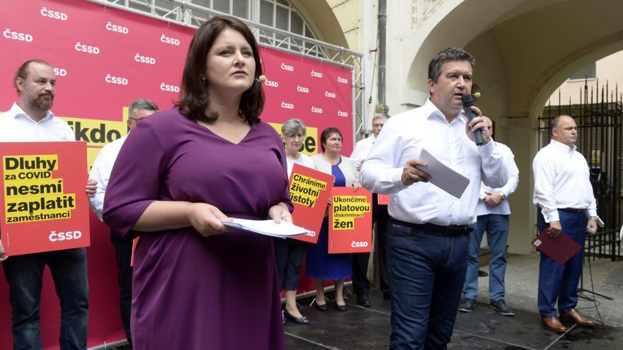 Video Zahájení předvolební kampaně ČSSD