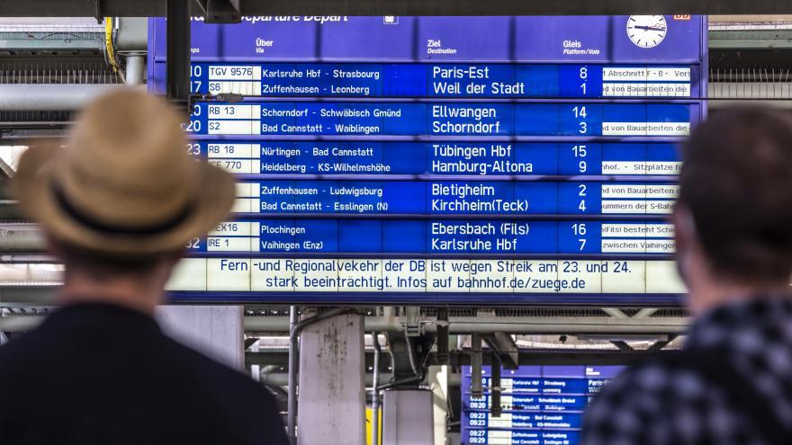 Video Studio 6: Zpravodaj Jonáš o konci stávky v německé železniční dopravě