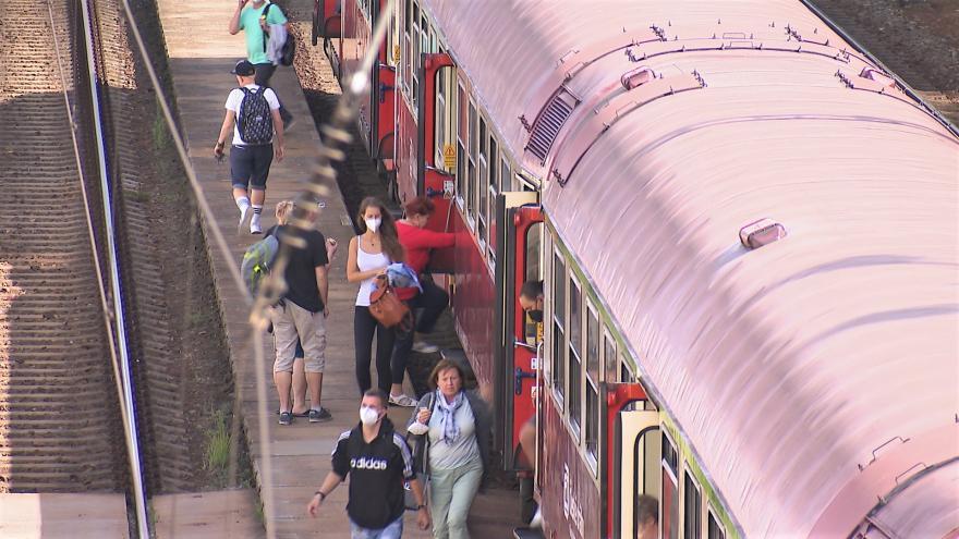 Video Události v regionech: Vlaková výluka mezi Brnem a Blanskem