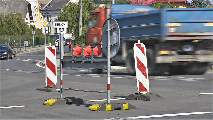 Video Události v regionech: Práce na obchvatu Krnova končí