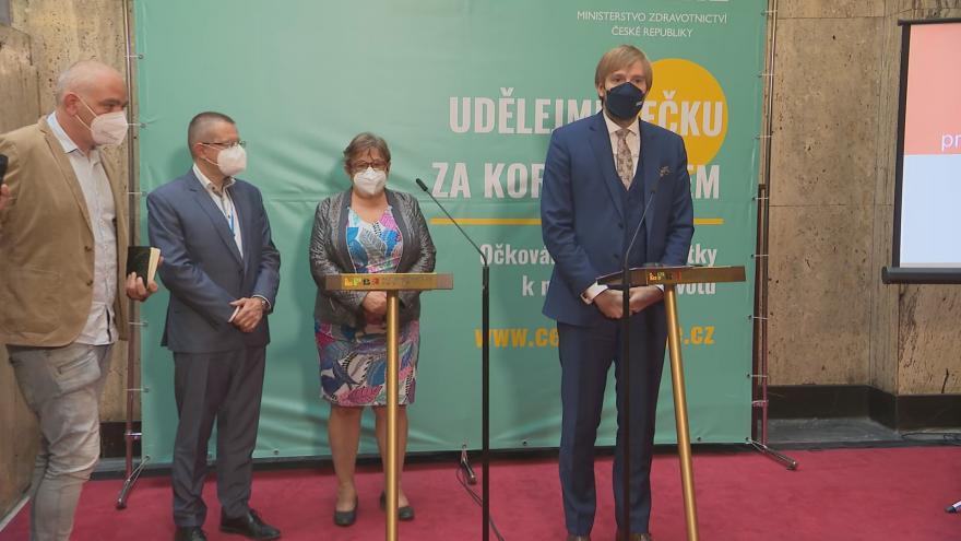 Video Tisková konference Ministerstva zdravotnictví k aktuální epidemické situaci