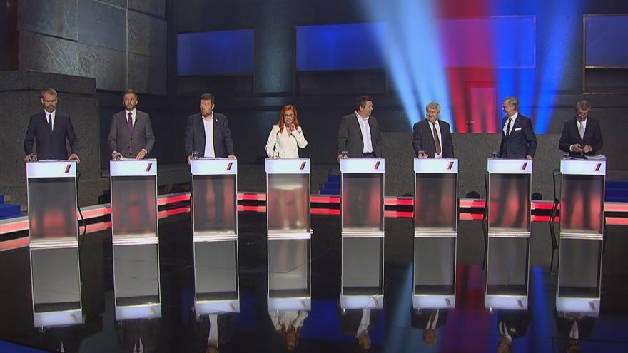 Video Volební superdebata