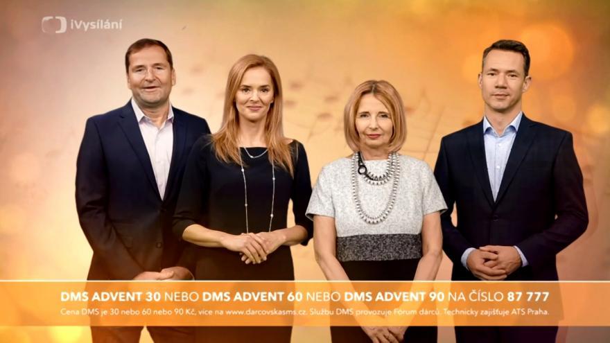 Video Upoutávka - Adventní koncerty České televize 2018