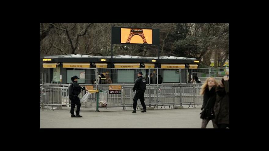 Video Hrozba terorismu odrazuje turisty z Francie