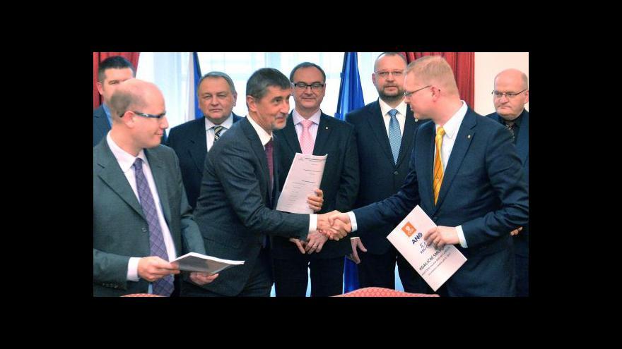 Video Bartošek: Nevidím důvod měnit koaliční smlouvu