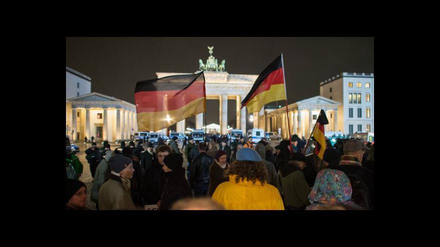 Video V Drážďanech jsou zakázaná všechna pondělní shromáždění