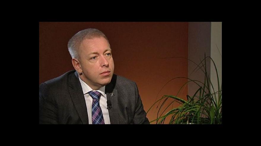 Video Rozhovor Milana Chovance pro ČT