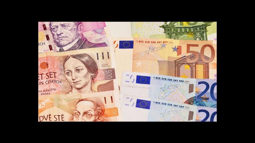 Video Reakce českých firem na výkyvy měny