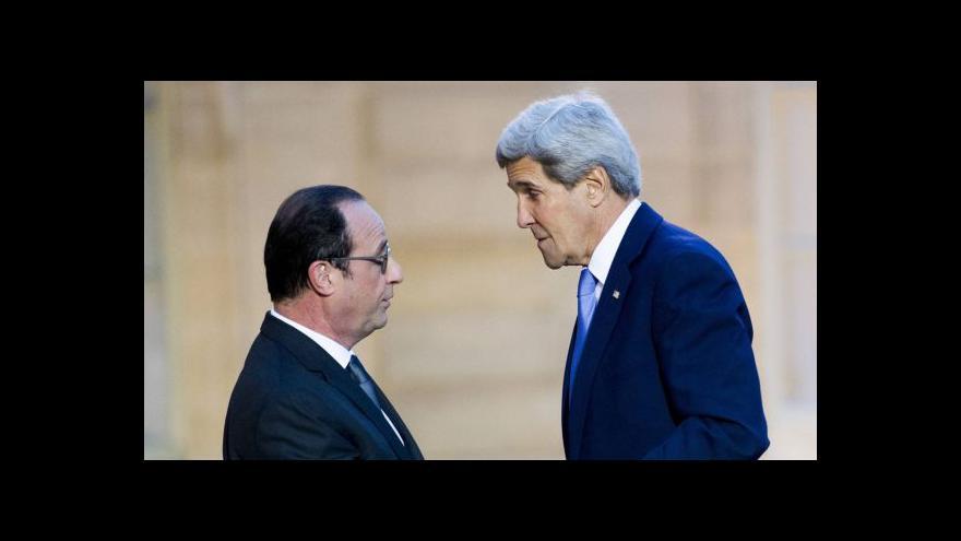 Video Studio ČT24: Hollande a Kerry o boji proti terorismu