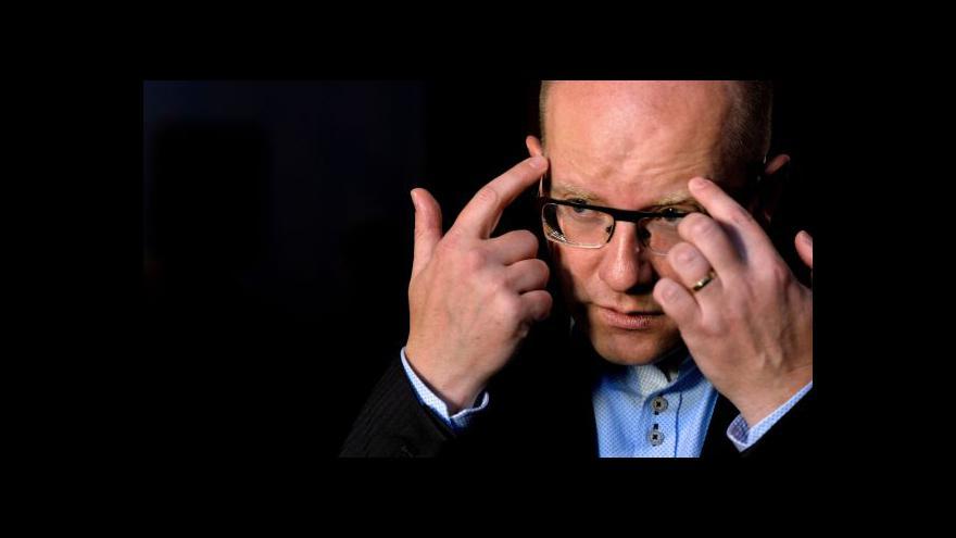 Video Sobotka: O větším bezpečnostním riziku nemáme zprávy