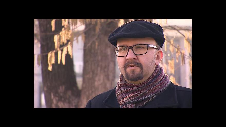 Video O historii modrotisku hovoří etnograf Martin Šimša