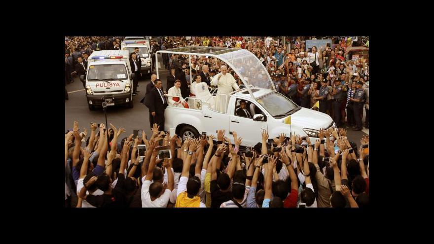 Video František na návštěvě Filipín