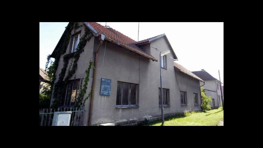 Video Historik o domu, kde žil Jan Palach