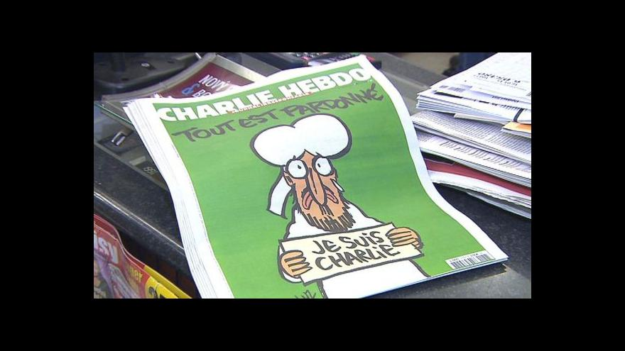 Video Po Charlie Hebdo se v Česku jen zaprášilo