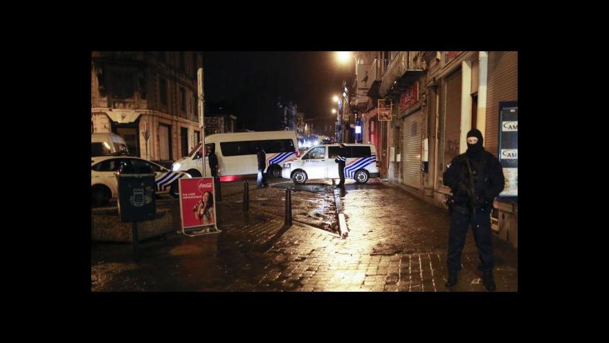 Video Protiteroristické razie: Zatýkalo se v Belgii i Francii
