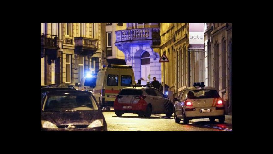 Video Po policejní akci platí v Belgii zvýšená bezpečnostní opatření
