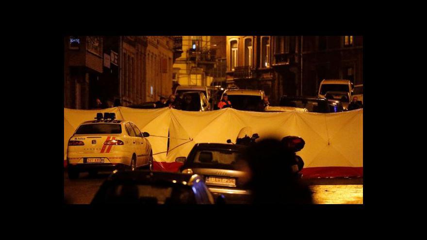 Video Zpravodaj ČT o zásahu: Belgičané jsou nervózní