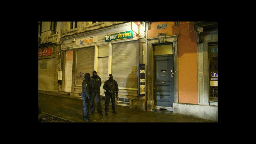Video Horizont: Zásah proti teroristům v Belgii