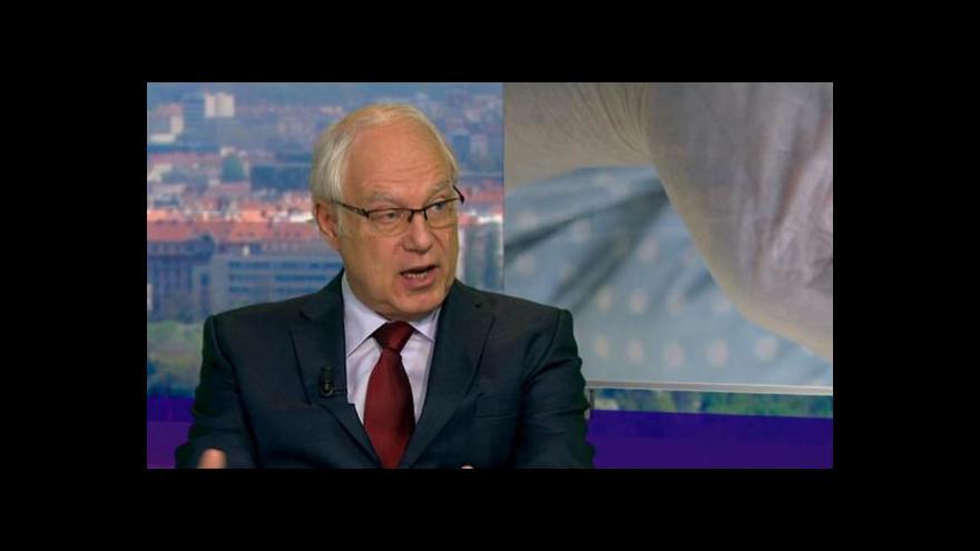 Video Předseda komise pro důchodovou reformu Martin Potůček v Událostech, komentářích