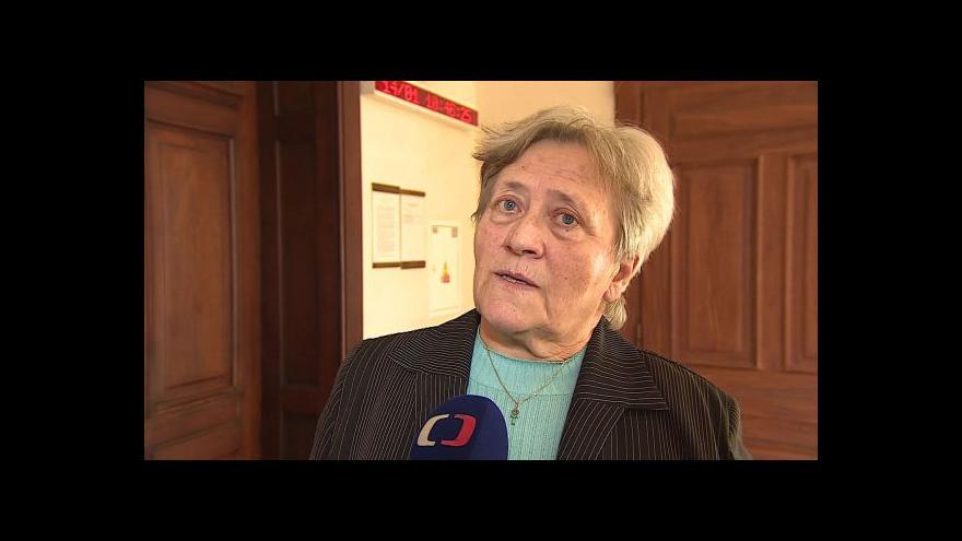 Video Exstarostka Dagmar Hrubá o verdiktu v kauze Wilson
