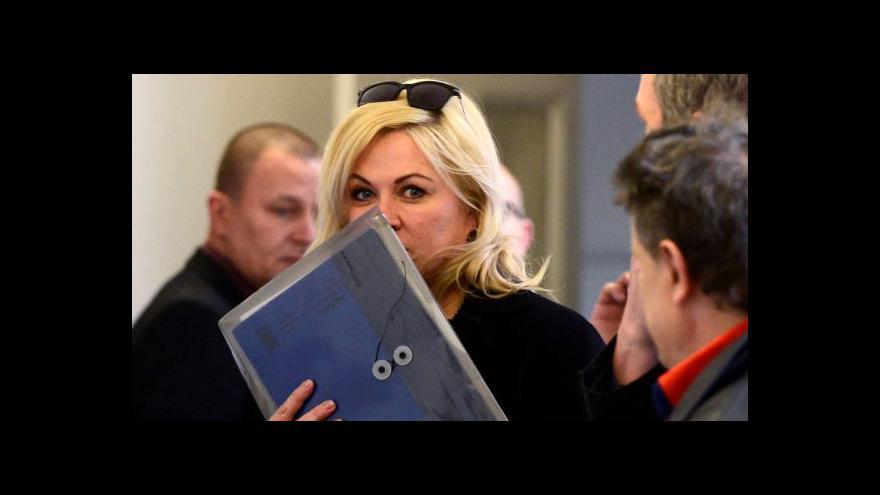Video UDÁLOSTI: Soud v kauze Nagyová dnes ve zpřísněném režimu