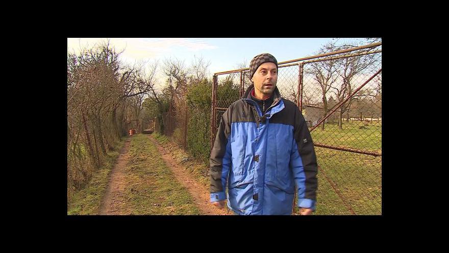 Video O sporu o cestu hovoří jeden z majitelů pozemků Pavel Kubíček