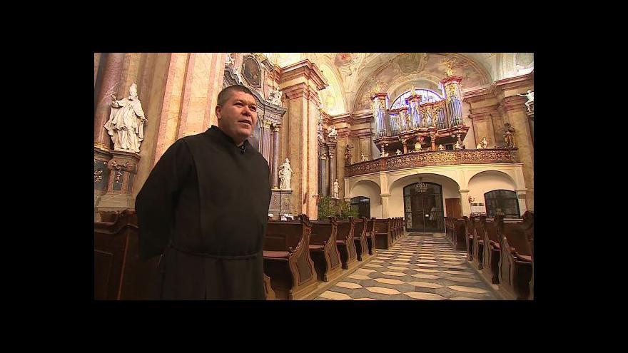 Video O církevní turistice ve Vranově u Brna hovoří farář Karel Hanslík