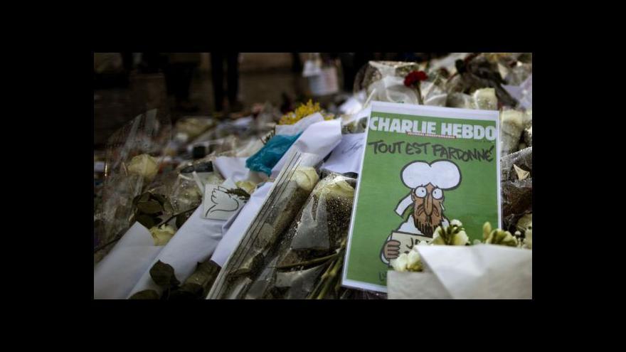 Video Horizont ČT24: Muslimové odsuzují násilí i karikatury