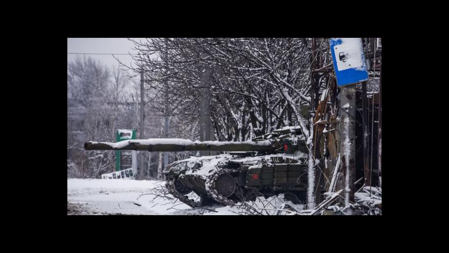 Video Ukrajina držela smutek za mrtvé z autobusu