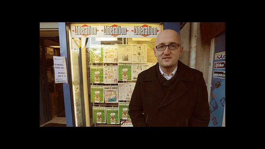 Video Davy Francouzů v ulicích - tentokrát kvůli Charlie Hebdo