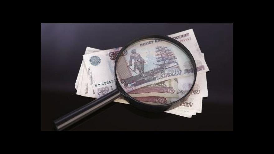 Video Ruské hospodářství čeká větší pokles, než se předpokládalo