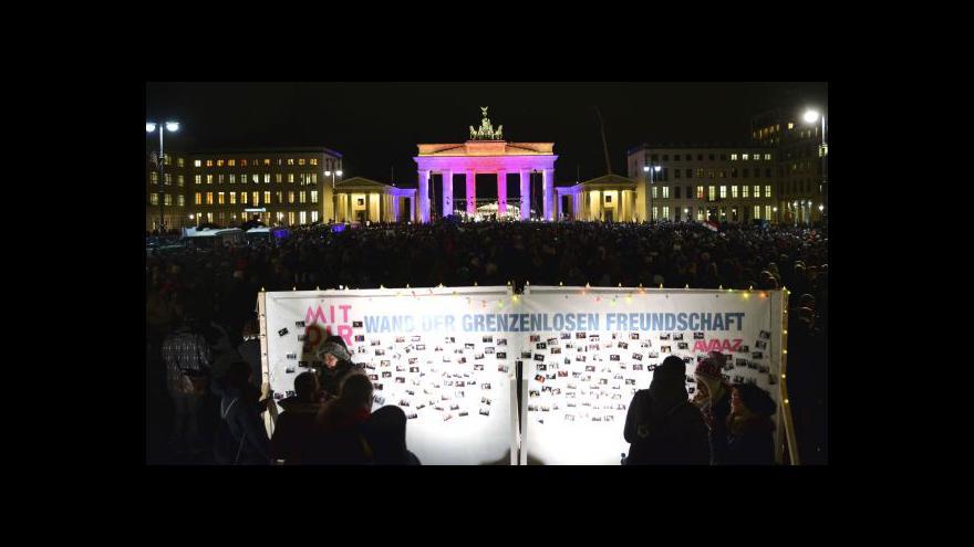 Video Zpravodaj ČT k berlínské pietě
