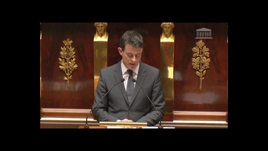 Video Projev Manuela Vallse v Národním shromáždění
