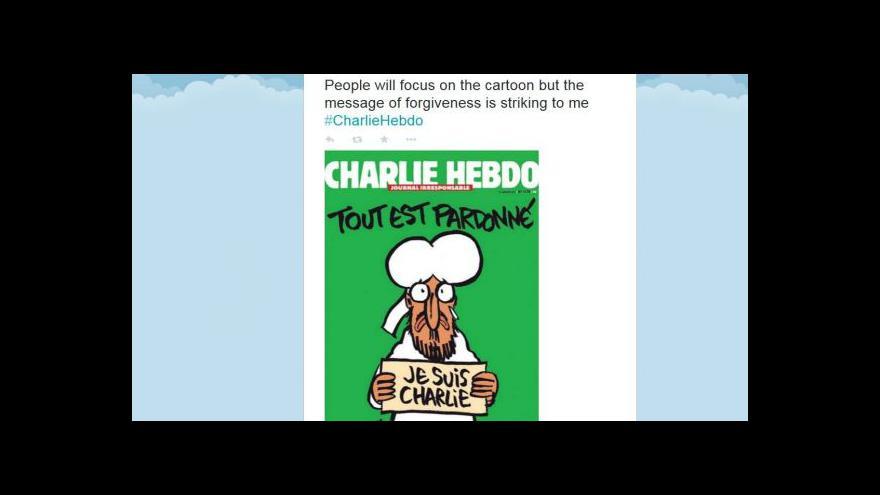 Video Zastrašit se nedáme, vzkazují redaktoři Charlie Hebdo