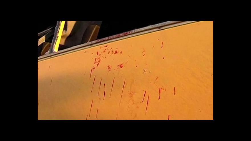 Video Ukrajinský masakr: V autobuse zemřelo 11 lidí