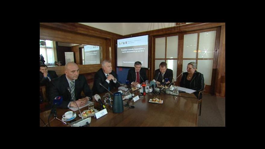 Video Tisková konference k hospodaření ve zdravotnictví
