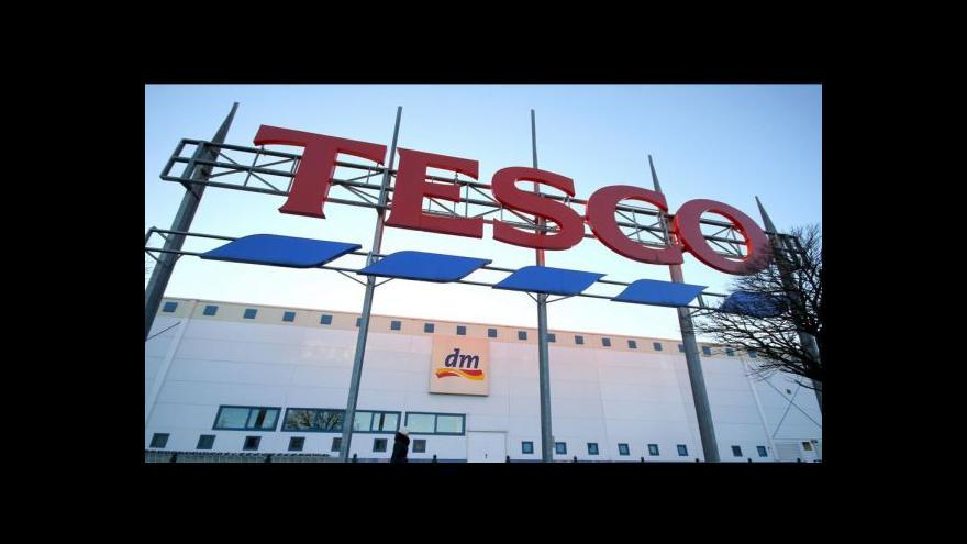 Video Nejasná budoucnost řetězce Tesco