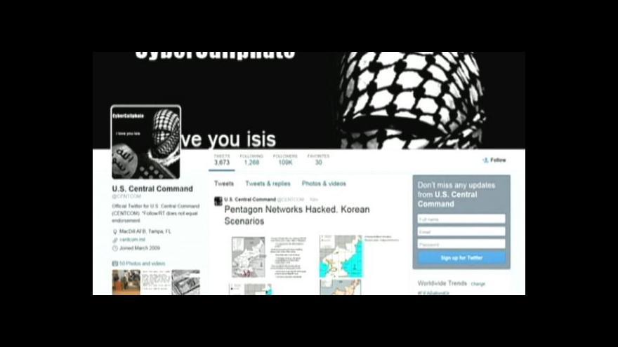 Video Účet americké armády napadli hackeři