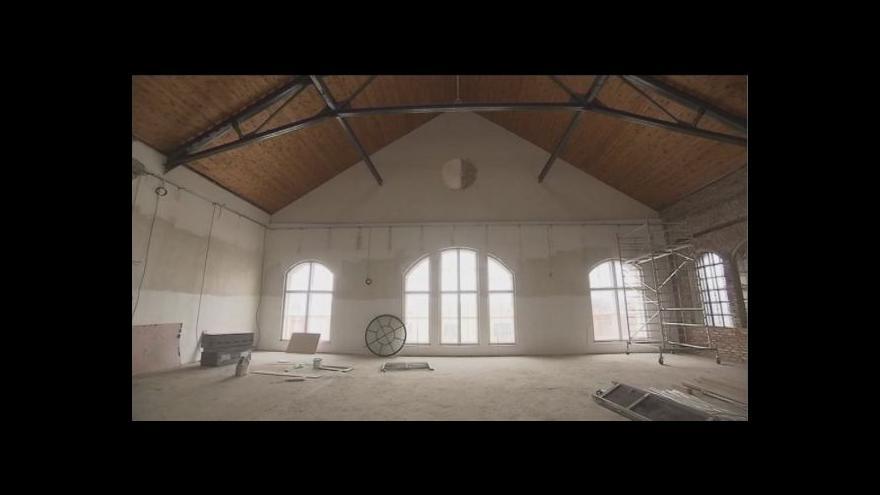Video Rekonstrukce areálu Dolu Hlubina finišuje