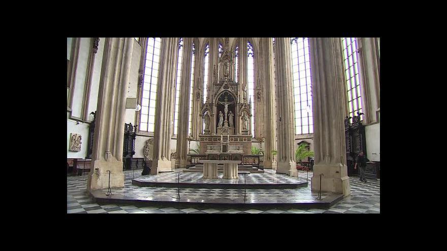 Video Bez komentáře: Přípravy na rekonstrukci kostela sv. Jakuba