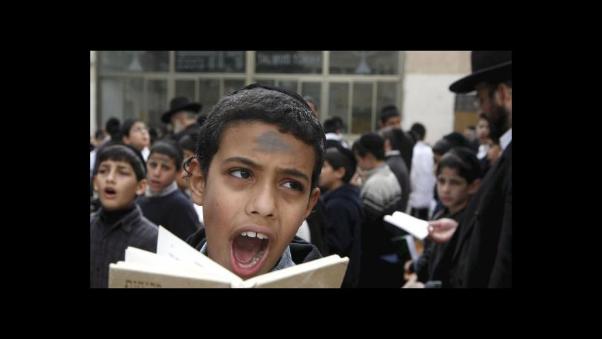 Video Zpravodaj ČT: Izrael o vlně antisemitismu v Evropě ví
