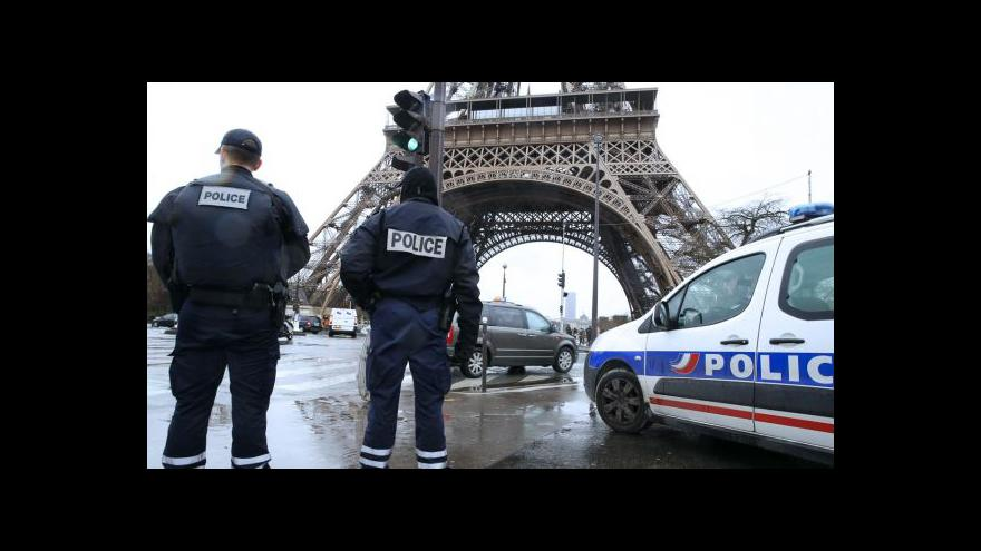 Video Bezpečnostní opatření ve Francii jsou na maximu