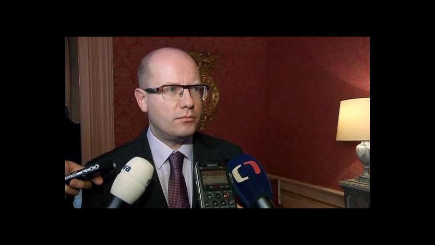 Video Události ČT: Bezpečnostní spolupráci s Francií posílíme, tvrdí Sobotka