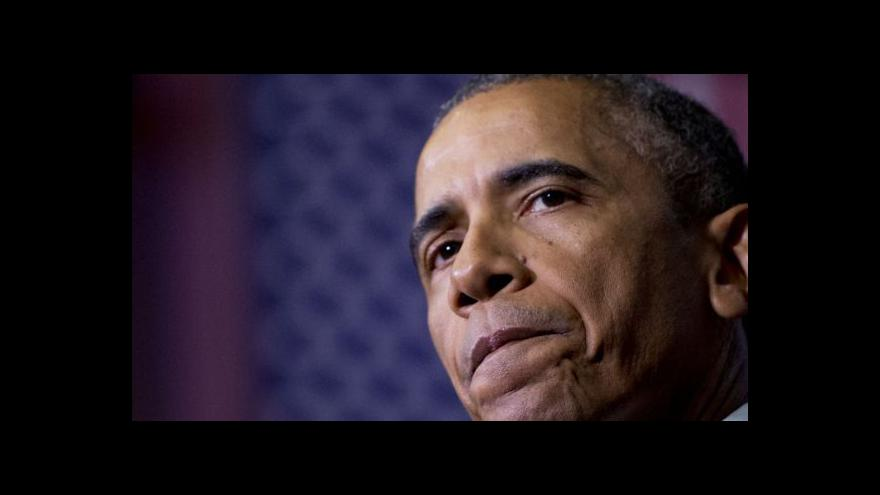 Video Zpravodaj ČT: Proč Obama nepřijel do Paříže?