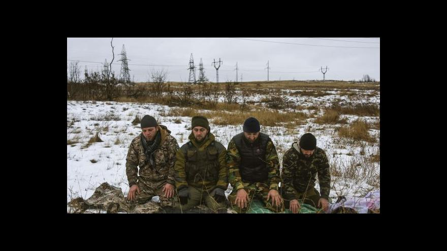 Video Podle NATO se boje v Donbasu zmírnily