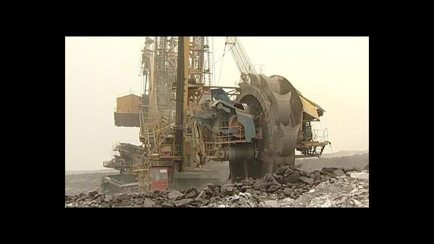 Video Ministr připravuje prolomení limitů těžby na Mostecku