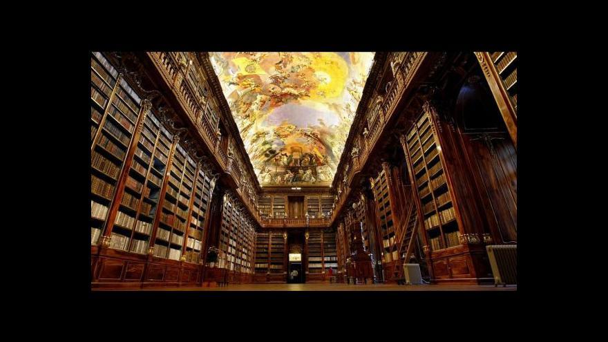 Video Události v kultuře: Nejkrásnější knihovny světa